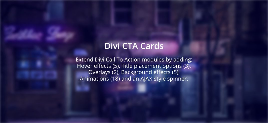 Divi CTA Cards Offer Endless Variety to Call To Action Modules